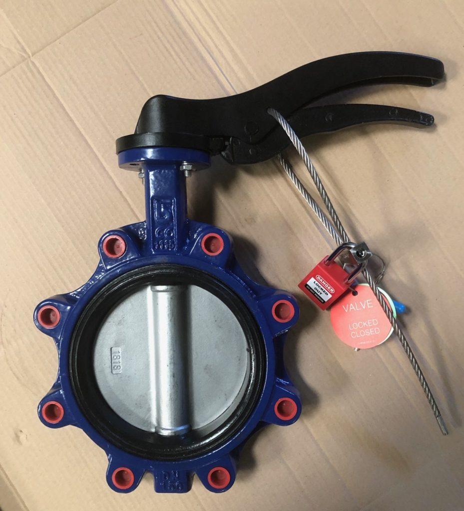 LOTO butterfy valve